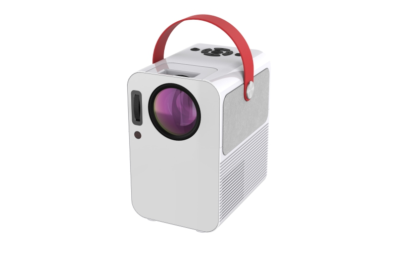 2020 Newest 1280x720 HD LCD LED Mini Portable Projector BBC2 with HIFI Bluetooth Speaker